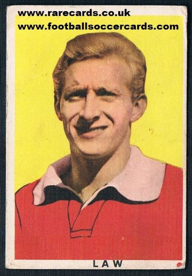 1961 Denis Law EDI red spot 17